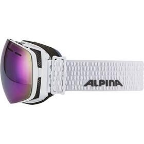 Alpina Granby Multimirror - Lunettes de protection - blanc